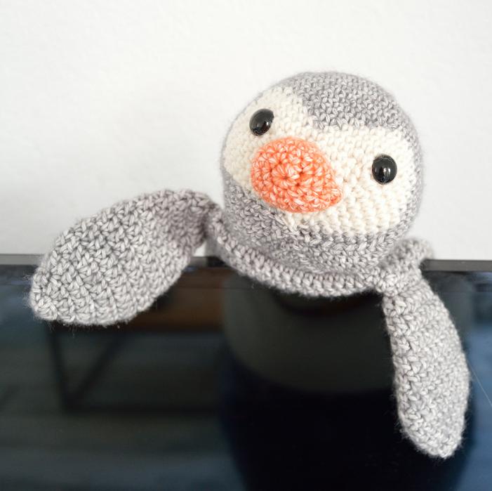 Amigurumi Pinguïn De Bezige Bij En De Kalme Schildpad Sabziel
