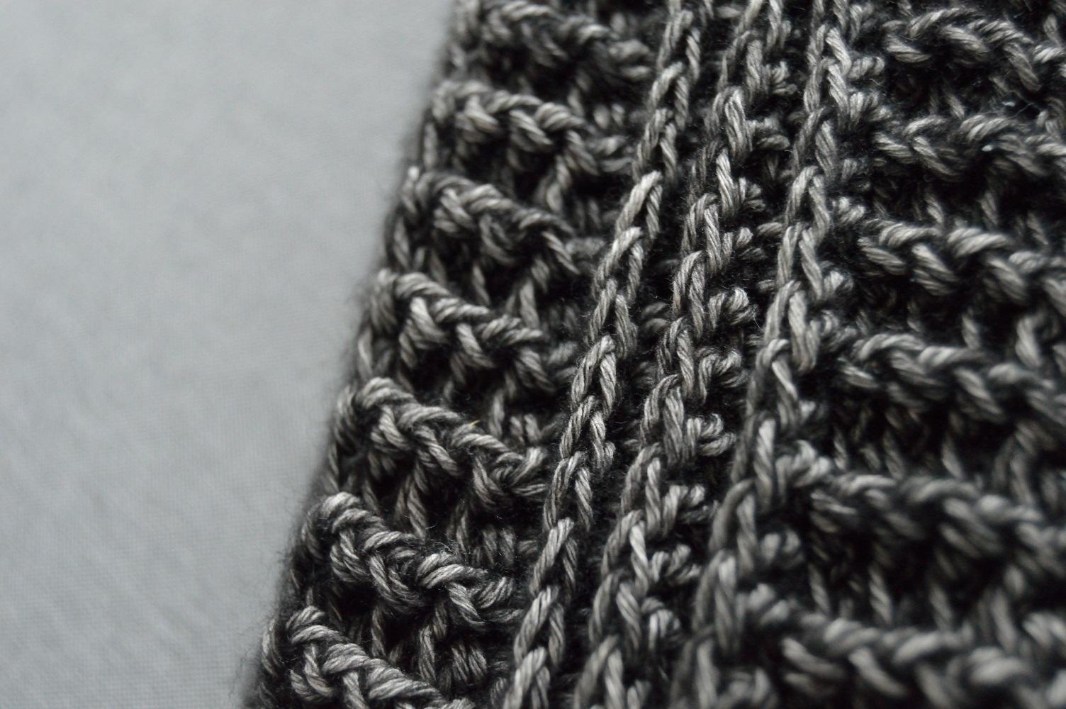 Sjalen tijd: Een stoere sjaal en een bloemetjes sjaal