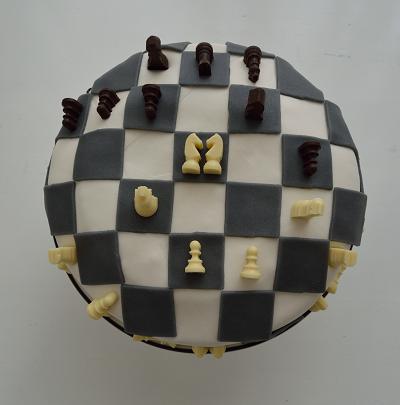 Birthday baking: Chess cake & blondies