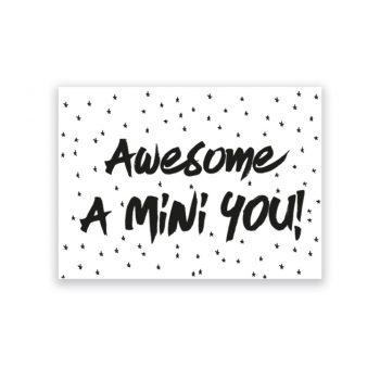 Kaart   Mini You   Black & White