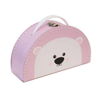 Koffertje   Polar Bear Pink