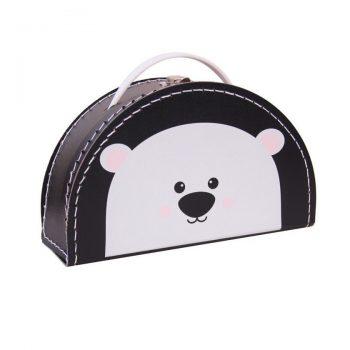 Koffertje   Polar Bear Black